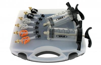 var kit de purge de frein a disque hydraulique seringues noires