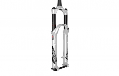 rockshox 2016 fourche pike rct3 29 axe 15 mm dual position conique offset 51mm blanc