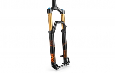 fox racing shox 2016 fourche 34 float factory 27 5 fit4 3 position 15mm conique noir