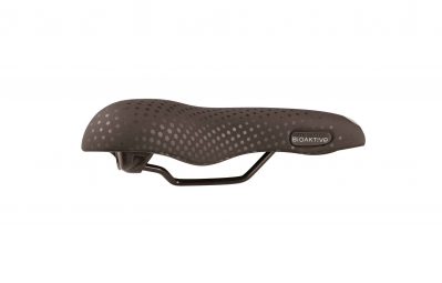 san marco selle large gel recreational noir suede