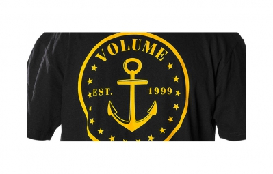 volume t shirt nautical noir