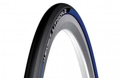 michelin pneu lithion 2 700 x 23c bleu souple