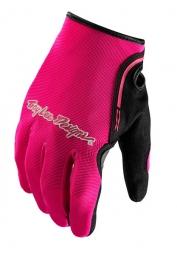 troy lee designs paire de gants femme xc rose
