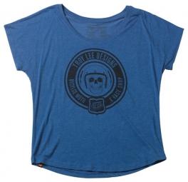 troy lee designs t shirt femme dolman vtg ryl bleu m