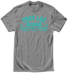 troy lee designs t shirt raceshop htr enfant gris