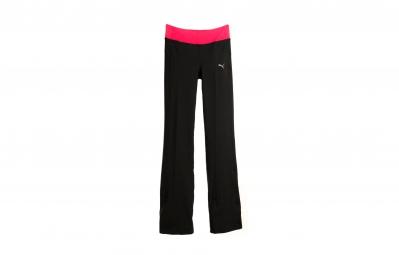 puma pantalon femme noir rose