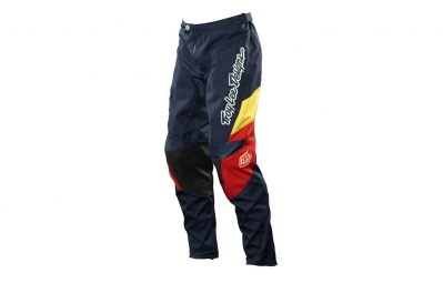 troy lee designs pantalon gp airway bleu femme