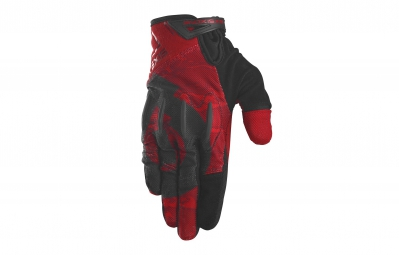 661 sixsixone 2015 paire de gants evo rouge noir