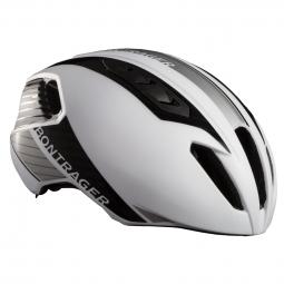 casco aerodinamico bontrager ballista 2016 blanco plateado