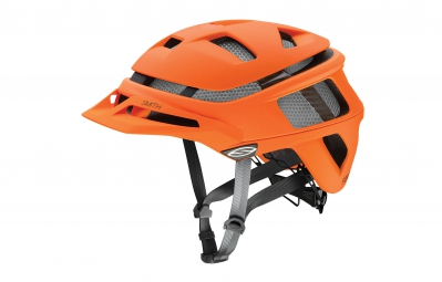 smith casque forefront orange fluo mat
