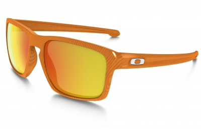oakley lunettes fingerprint collection sliver orange fire iridium ref oo9262 16