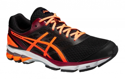 asics gel stratus 2 noir orange