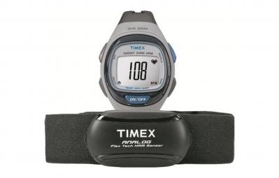 timex montre health et fitness gris bleu