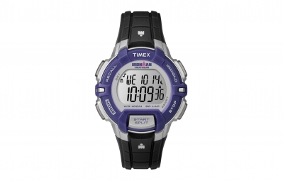 timex montre ironman rugged 30 lap bleu gris