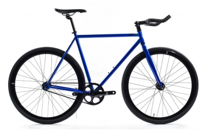 state velo complet fixie blue steel bleu
