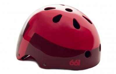 casque bol 661 sixsixone 2015 dirt lid rouge taille unique