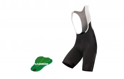 endura cuissard court fs260 bibshorts narrow noir blanc