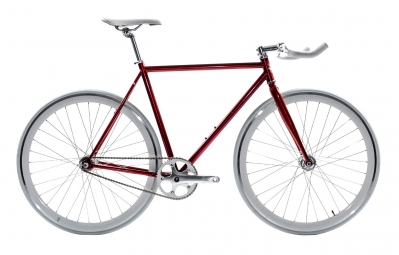 state velo complet fixie cardinal rouge