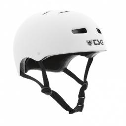casque bol tsg skate bmx solid color blanc