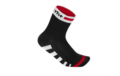 zero rh paire de chaussettes ergo 9 noir blanc rouge