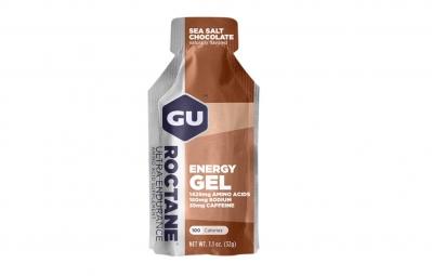 gu gel energetique roctane gout chocolat fleur de sel