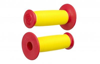 odi poignee mushroom ii jaune rouge