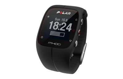 polar montre m400 gps hr avec ceinture cardiaque noir