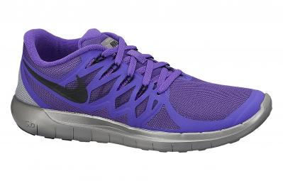 nike chaussures free 5 0 flash violet femme