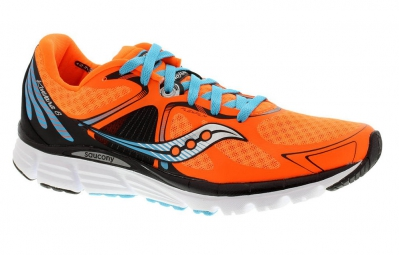saucony chaussures homme kinvara 6 orange bleu noir