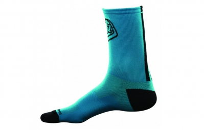troy lee designs 2 paires de chaussettes ace performance bleu