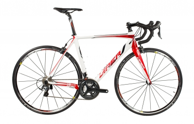 viper velo complet puy de dome carbone shimano ultegra compact 11v di2 blanc rouge