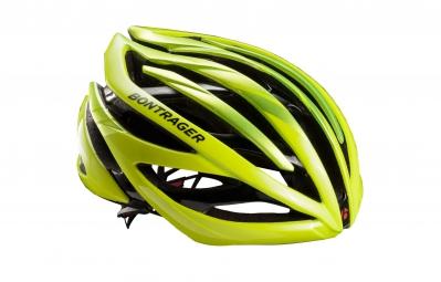 casque bontrager velocis jaune haute visibilite