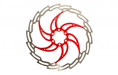 gpa disque 6 trous rouge