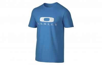 oakley t shirt griffin tee 2 0 bleu