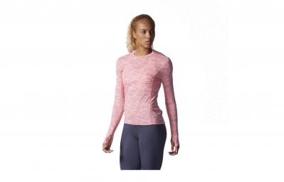 adidas t shirt supernova femme rose