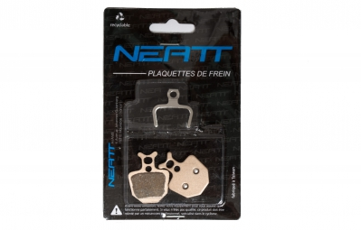 neatt plaquettes metalliques pour formula oro callipers