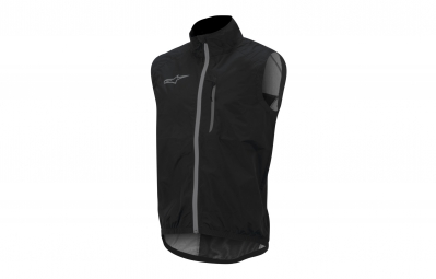 alpinestars veste coupe vent sans manches descender noir