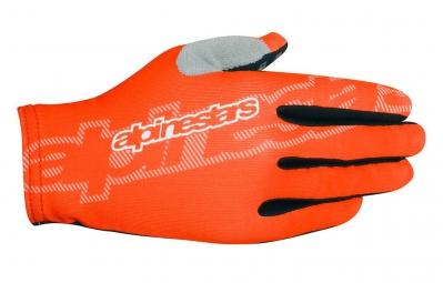 alpinestars paire de gants f lite orange