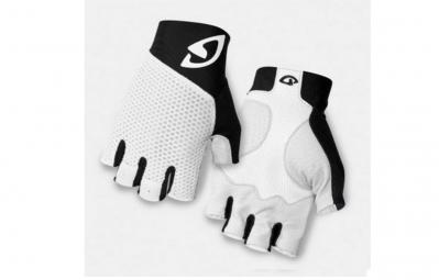 giro paire de gants zero 2 blanc noir