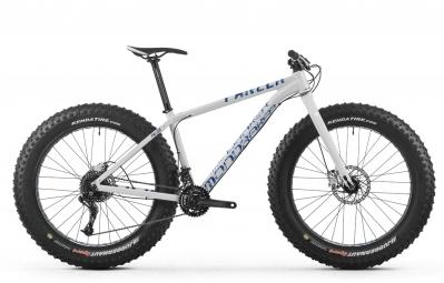 mondraker 2016 velo complet fat bike panzer blanc bleu