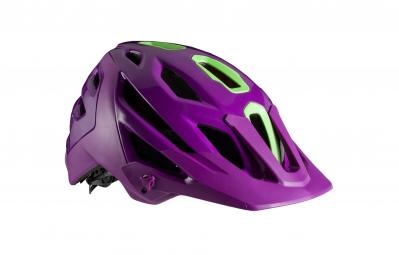 casque bontrager lithos 2016 violet vert