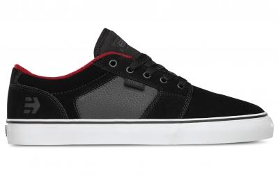 paire de chaussures bmx etnies barge ls noir gris rouge