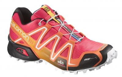 salomon speedcross 3 cs w orange rose