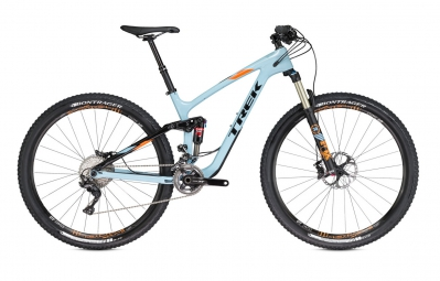 trek 2016 velo complet fuel ex 9 8 carbone 29 powder blue