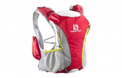 salomon sac a dos skin pro set rouge gris