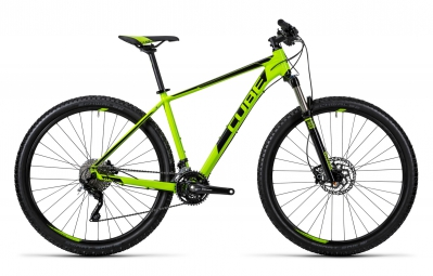 cube 2016 velo complet attention sl 27 5 vert noir