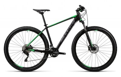 cube 2016 velo complet attention 27 5 noir vert