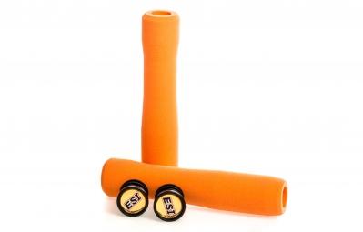 esi paire de grips fit cr silicone orange