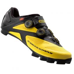 chaussures vtt mavic crossmax sl ultimate 2016 jaune noir