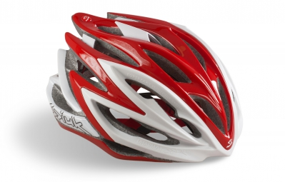 casque spiuk dharma rouge blanc